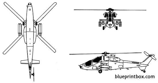 agusta mangusta a129 model airplane plan