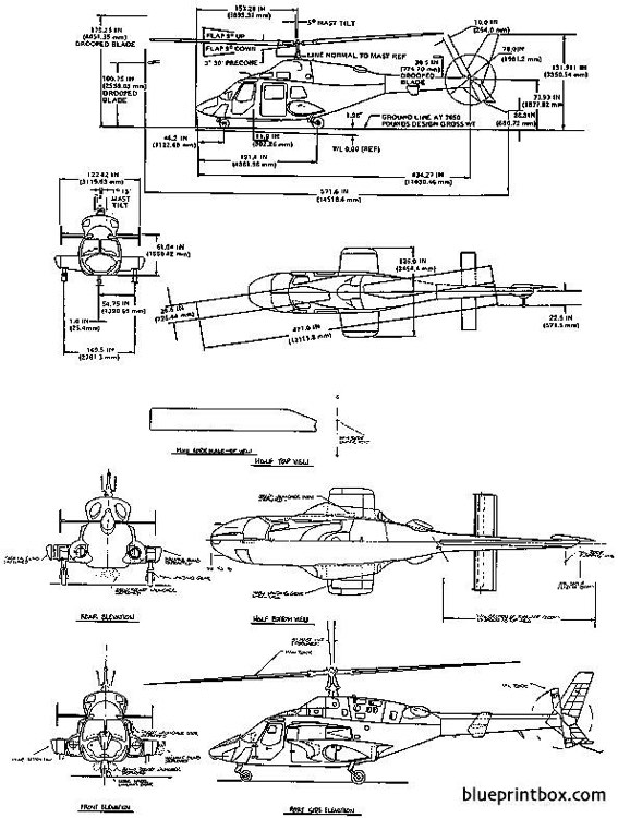 airwolf model airplane plan