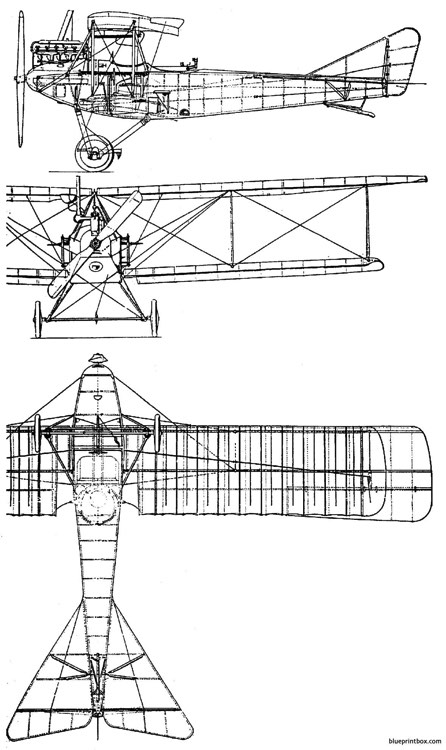 albatros c i model airplane plan
