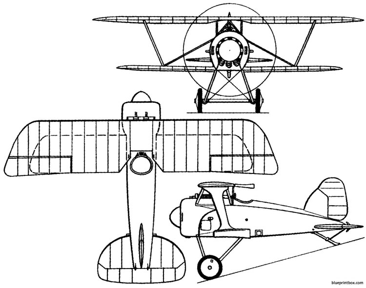 albatros d xi germany model airplane plan