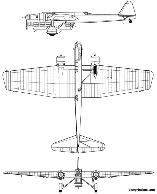 amiot 143 model airplane plan
