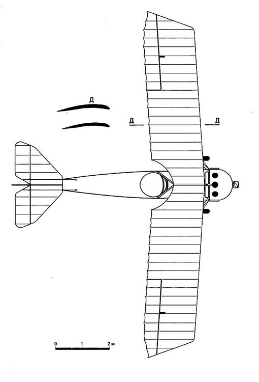 anatra 2 3v model airplane plan