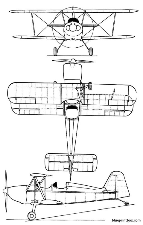andreasson ba 11 model airplane plan