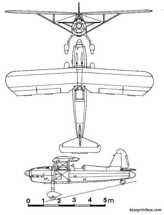 arado ar 76 model airplane plan