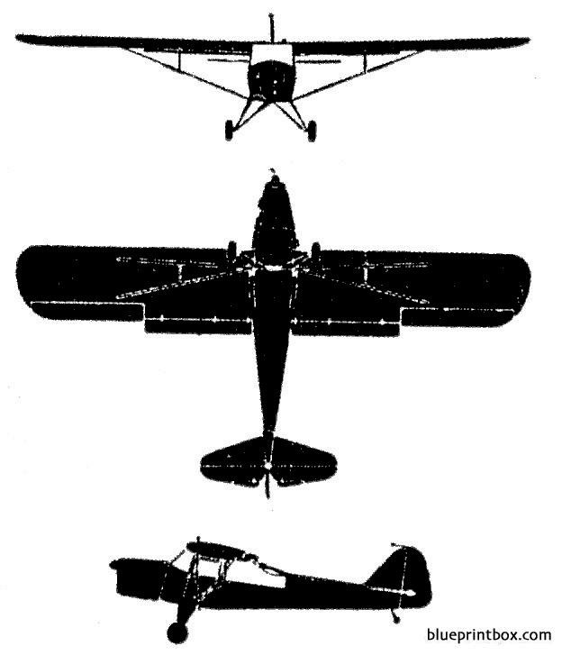 auster model airplane plan