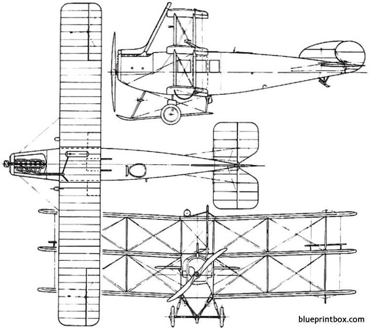 avro 547 1920 england model airplane plan