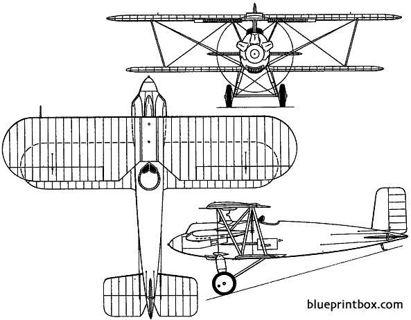 avro 566 avenger 1926 england model airplane plan