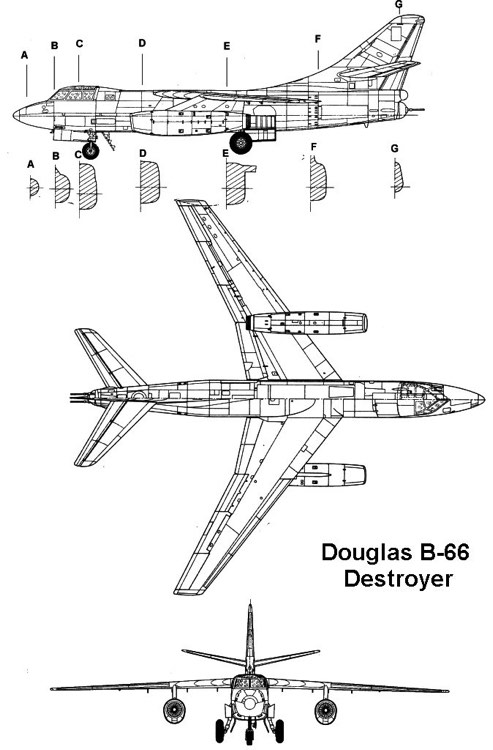 b66 3v model airplane plan