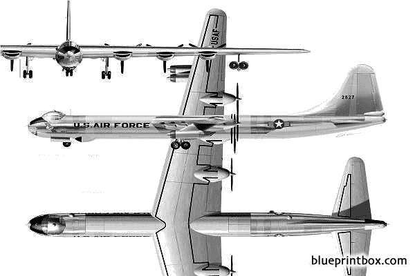b 36 peacemaker model airplane plan