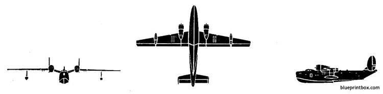 beriev b6 model airplane plan
