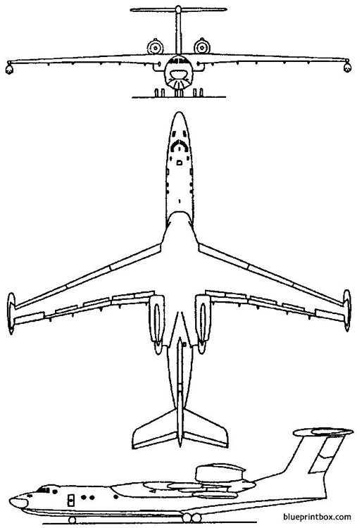 beriev be 42  a 40 albatros 1986 russia model airplane plan