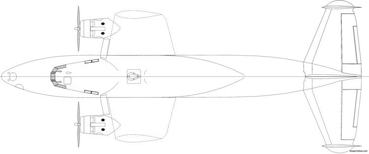 boeing b 314 clipper 07 model airplane plan