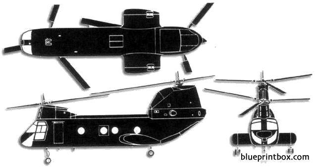 boeing ch 46 sea knight model airplane plan