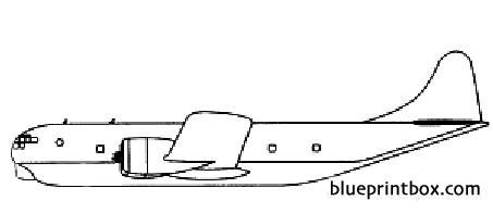 boeing kc 97 model airplane plan