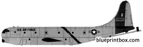 boeing kc 97g stratotanker model airplane plan