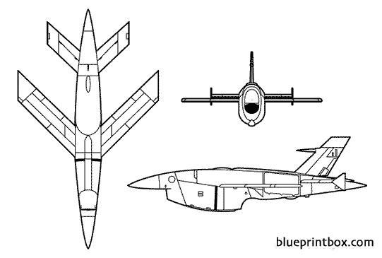 bqm 34 firebee ii model airplane plan