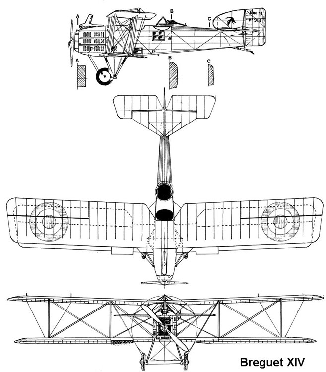br14 3v model airplane plan