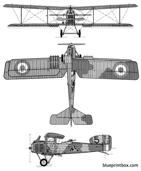 breguet 14 model airplane plan