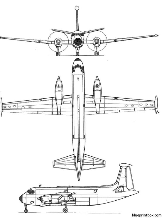 breguet br 1150 atlantic model airplane plan