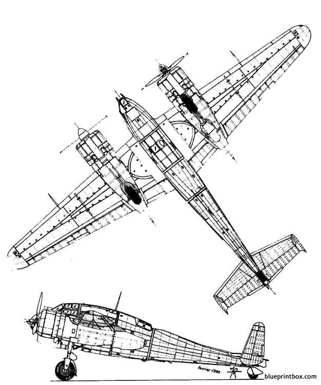 breguet br 695 2 model airplane plan