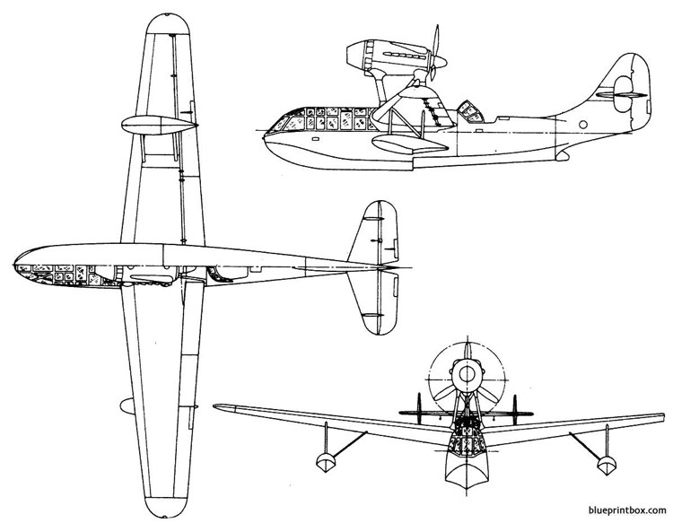 breguet br 790 nautilus model airplane plan