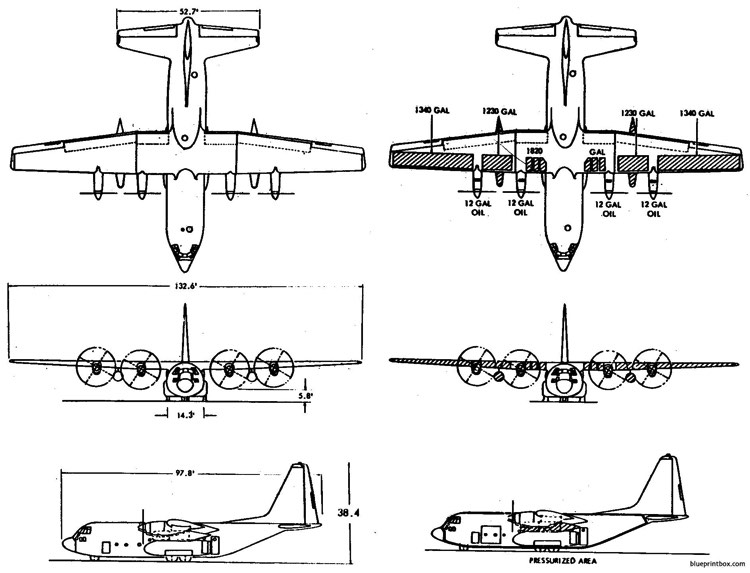 c 130 model airplane plan