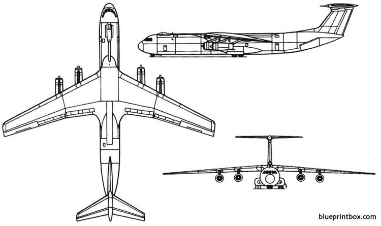 c 141 model airplane plan