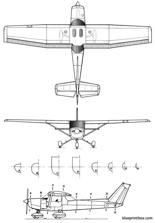 Cessna 152 Plans Aerofred Download Free Model Airplane Plans
