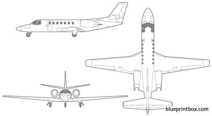 cessna citation encore+ model airplane plan