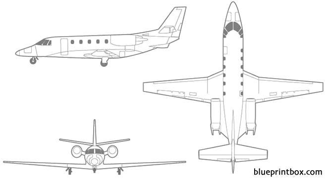 cessna citation xls+ model airplane plan