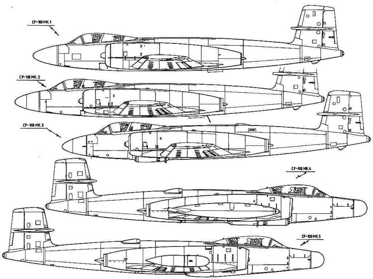 cf100 1 3v model airplane plan
