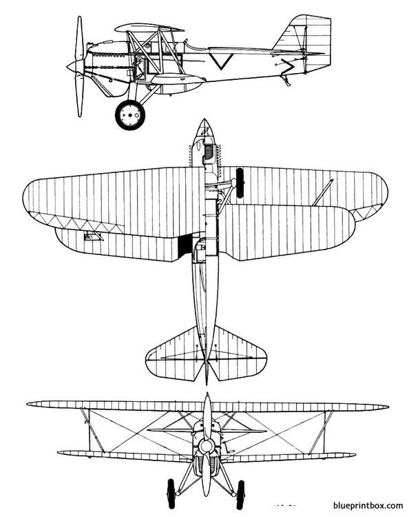 curtiss p 1c hawk model airplane plan