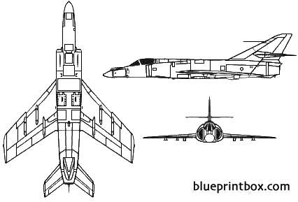 dassault breguet super etendard model airplane plan