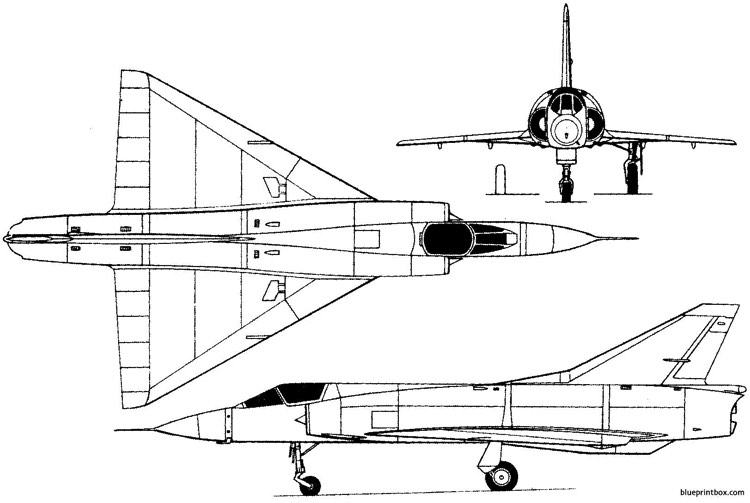 dassault mirage iii 1956 france model airplane plan
