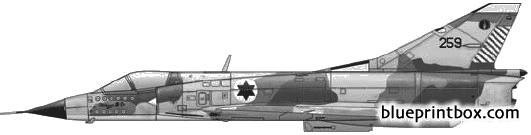 dassault mirage iiicj model airplane plan