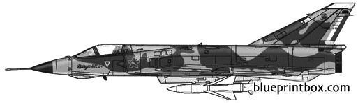 dassault mirage iiiez model airplane plan