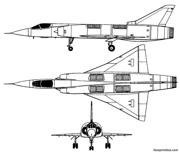 dassault mirage iiiv model airplane plan