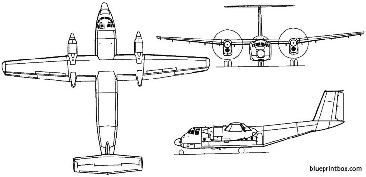 de havilland canada dhc 5 buffalo 1964 canada model airplane plan