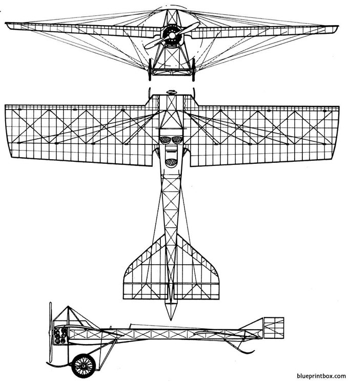 deperdussin 1911 model airplane plan