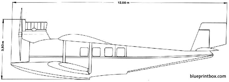 dornier delphin ii 03 model airplane plan