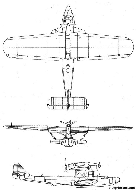 dornier do 18 model airplane plan