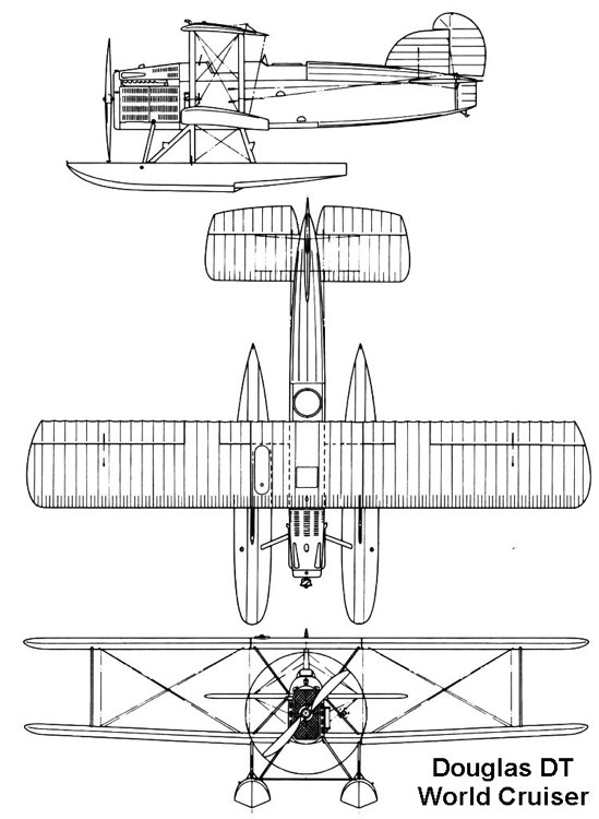 douglas dt 3v model airplane plan