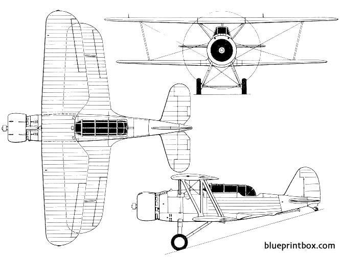 douglas xfd 2 model airplane plan