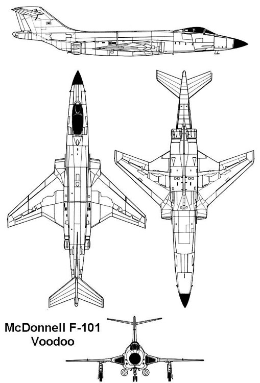 f101 3v model airplane plan