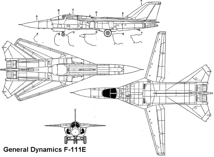 f111e 3v model airplane plan