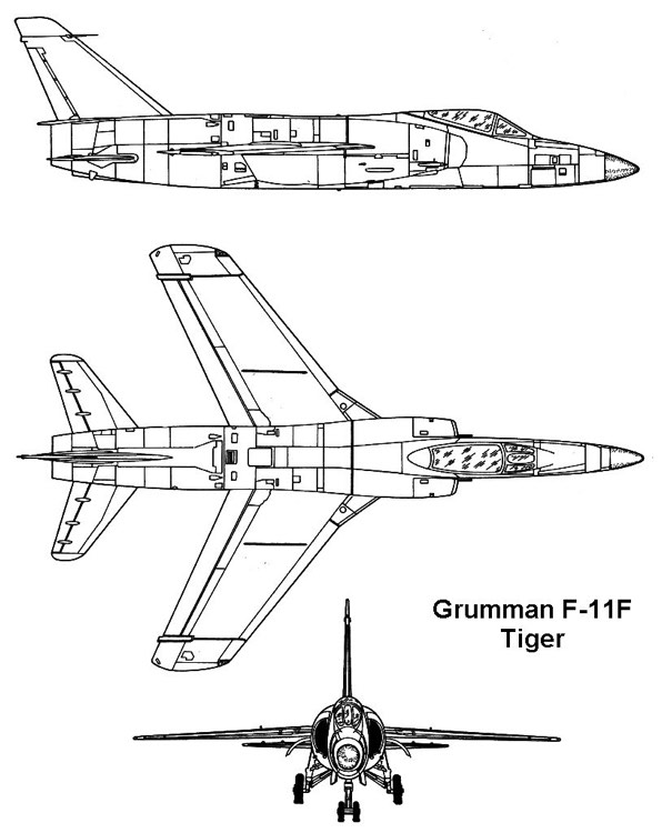 f11f 1 3v model airplane plan