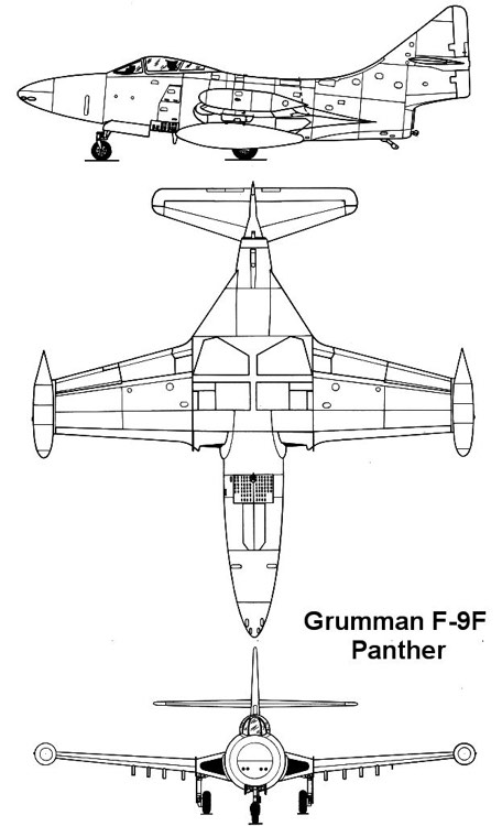 f9f 1 3v model airplane plan