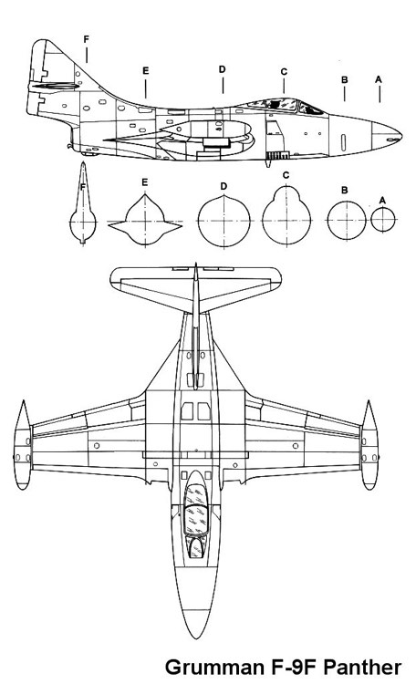 f9f 2 3v model airplane plan