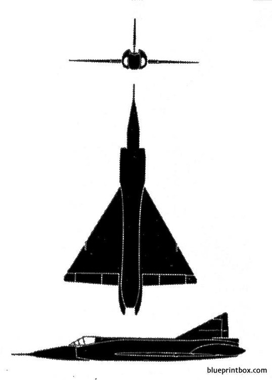 f 102 deltadagger model airplane plan
