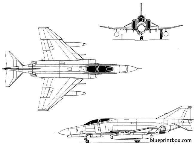 f 4 phantom2 model airplane plan